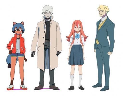 トリガーの新作オリジナルアニメの新キービジュアルとキャラ絵がきたけど・・・・これヒットするんか?