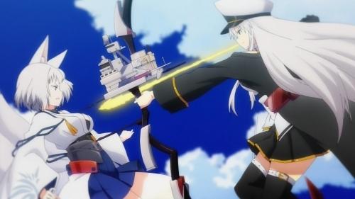 アニメ『アズールレーン』の空母の戦い方、アズレン運営に否定されてしまう(´;ω;`)
