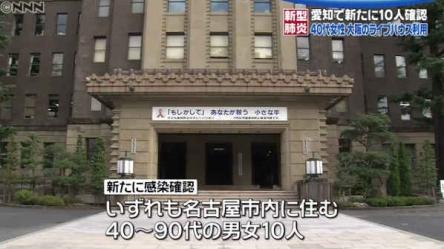 【悲報】新型コロナ、全然終息しそうにない! 名古屋と大坂で感染者が一気に増える!