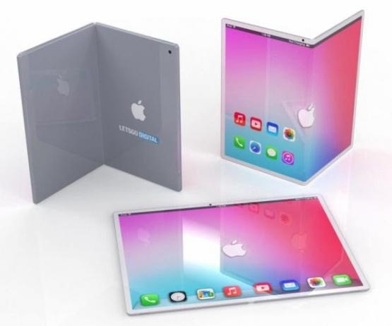 【朗報】Appleさん、ついに「折りたたみ式iPad」を発売!!! これなら外に持っていって大画面でソシャゲできるな