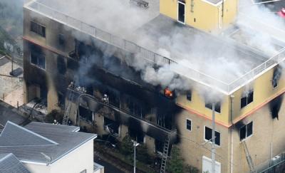 【京アニ放火事件】死者数34人のうち、28人がCO中毒死、残りの5人は・・・・