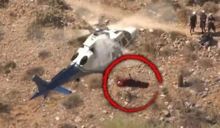 【動画】ヘリコプターで救助された女性、肉体的、精神的苦痛を受けたとして、市を提訴