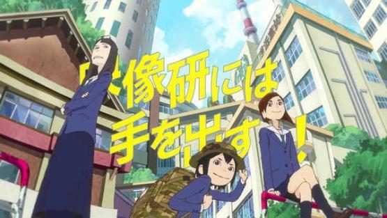 今期アニメ「映像研には手を出すな!」、実写映画化に続いてTVドラマ化も決定してしまう
