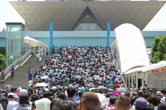 【画像・小ネタ】C96・令和初のコミケ初日の来場者数は16万人!入場有料化でも例年並み!