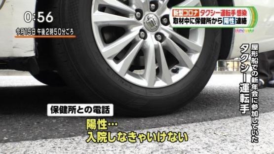 【笑ってはいけないコロナ24時】タクシー運転手さん、コロナについての取材中に陽性診断されてしまう