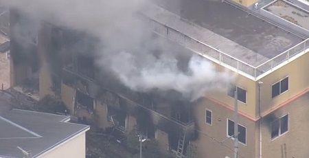 【悲報】京アニの3階フロア、放火からわずか30秒後に334℃まで上昇していた