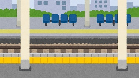 【悲報】奈良市職員の陽キャさん、駅のホームで走り幅跳びしてしまうw