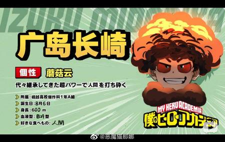 【ヒロアカ丸太騒動】中国人ユーザー、一線を越える「じゃあキャラ名に『ヒロシマ』や『ナガサキ』とつけようぜ」
