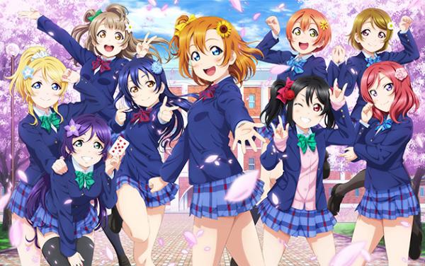 今週の総合力売上げランキングで「ラブライブ!シリーズ」が11億円売上げ圧倒的1位!