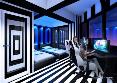 eスポーツ特化型のゲーミングホテルが爆誕www