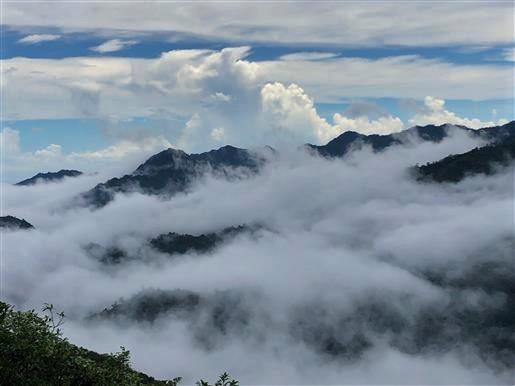 9月4日 太鼓岩からの雲海