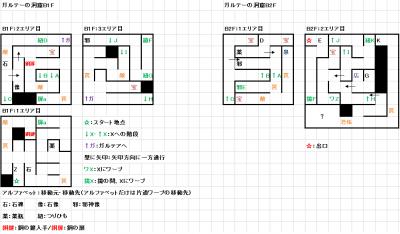 モンスターメーカー7つの秘宝:ガルテーの洞窟