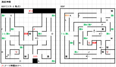 モンスターメーカー7つの秘宝:海底神殿