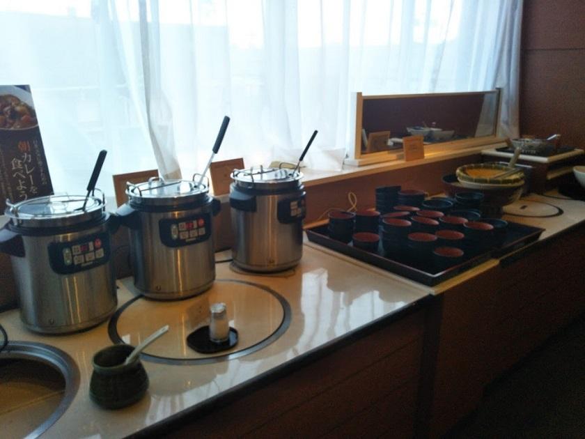 朝食バイキング カレー