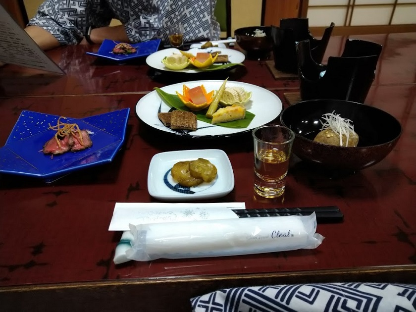 夕食_前菜、先付、食前酒
