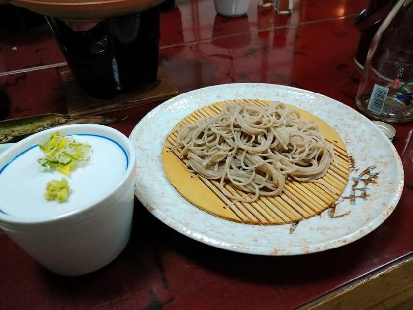 夕食_盛り蕎麦