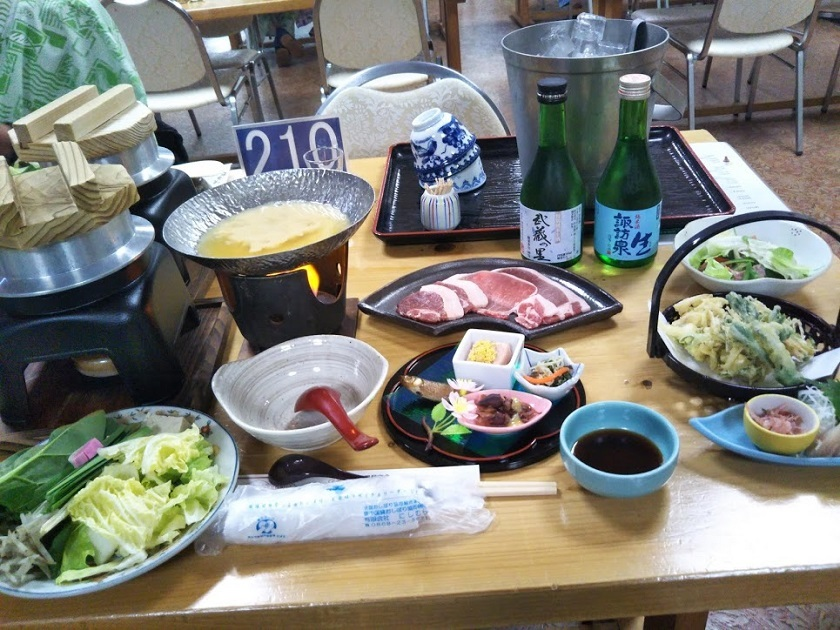 夕食 会席料理1