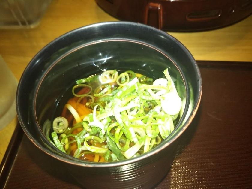 夕食 小鉢麺
