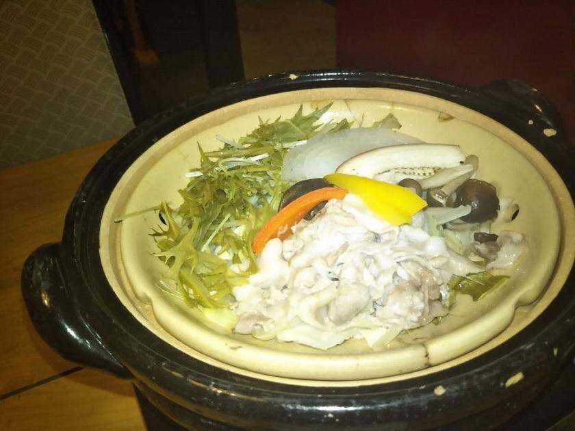 夕食 蒸し鍋
