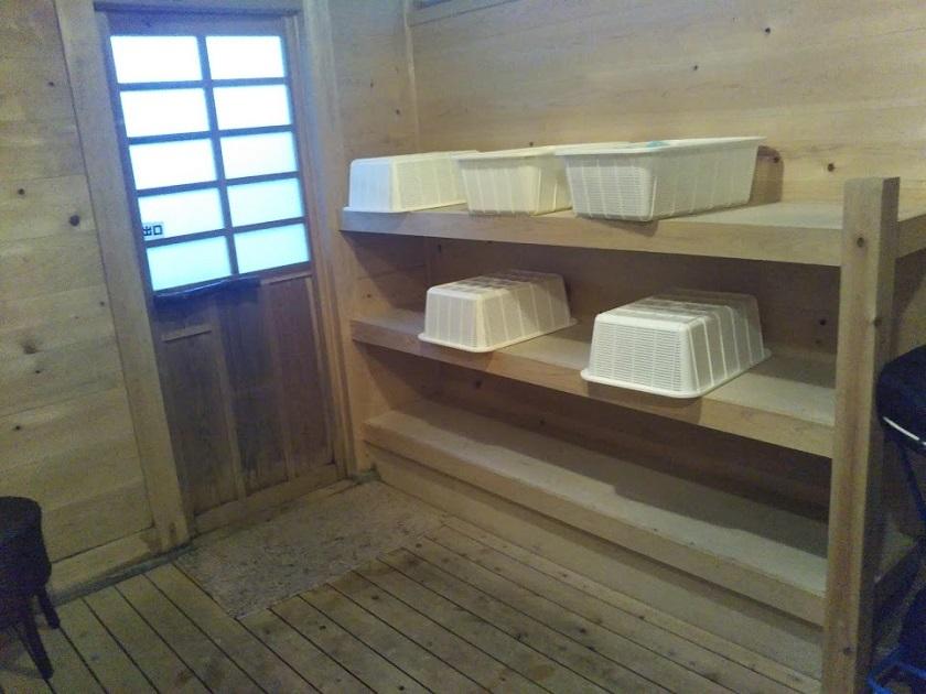 木漏れ日の湯 脱衣所