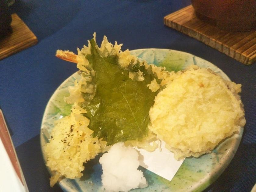 夕食和膳 天ぷら