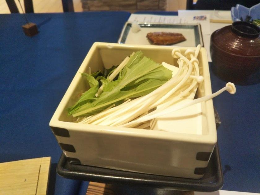 朝食 豆腐のセイロ蒸し