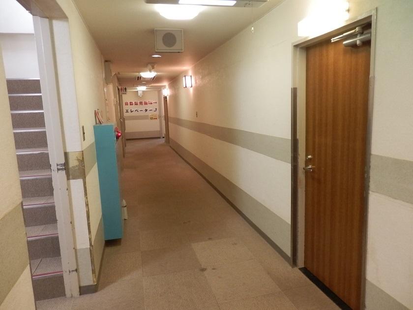 あわくら荘 客室階廊下