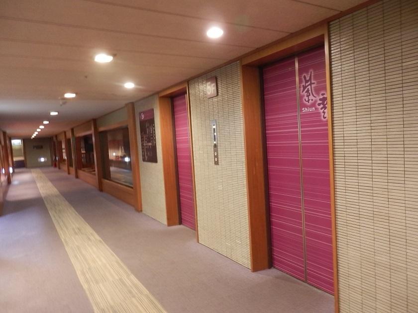 紫雲棟エレベーター