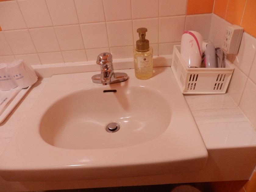 洗面台 ヘアドライヤー