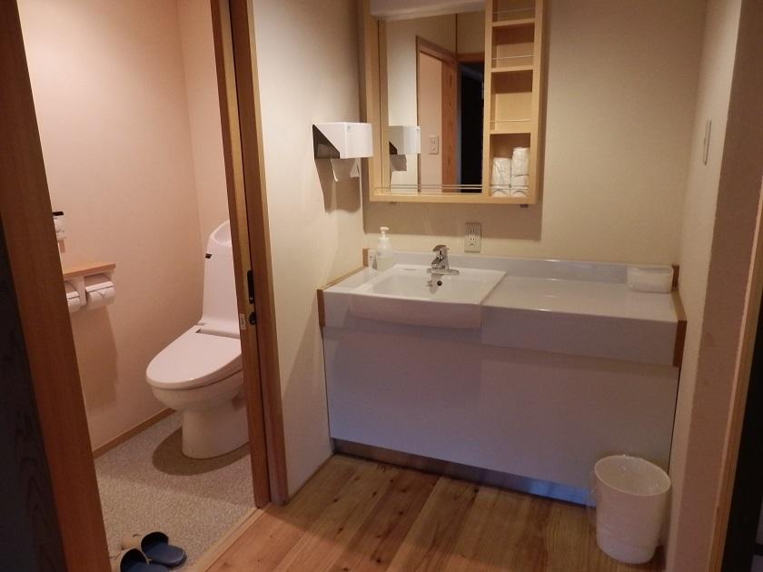 和室 洗面スペース
